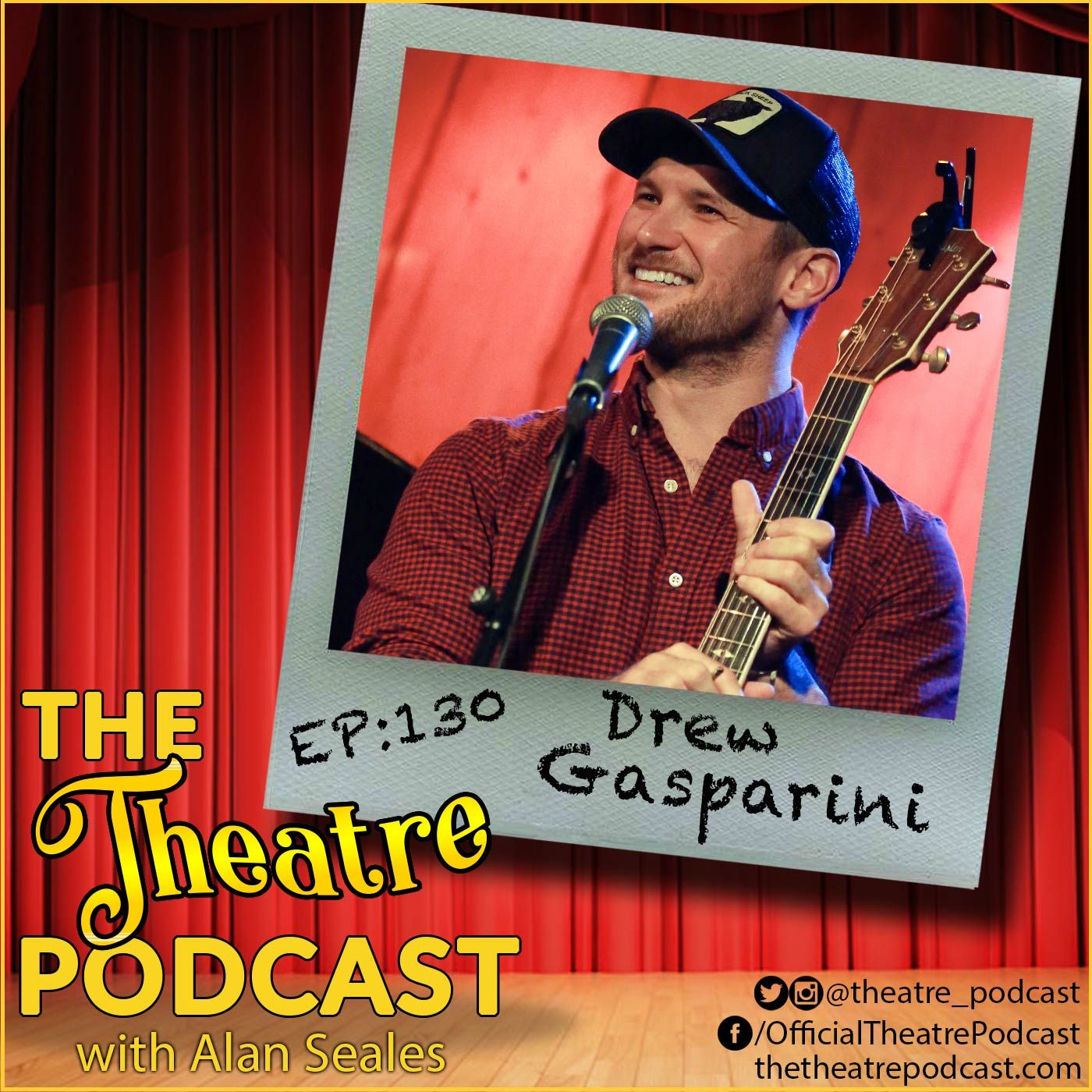 Ep130 - Drew Gasparini: Composer for The Karate Kid Musical, The Skittles Musical, Smash, and all-around good guy