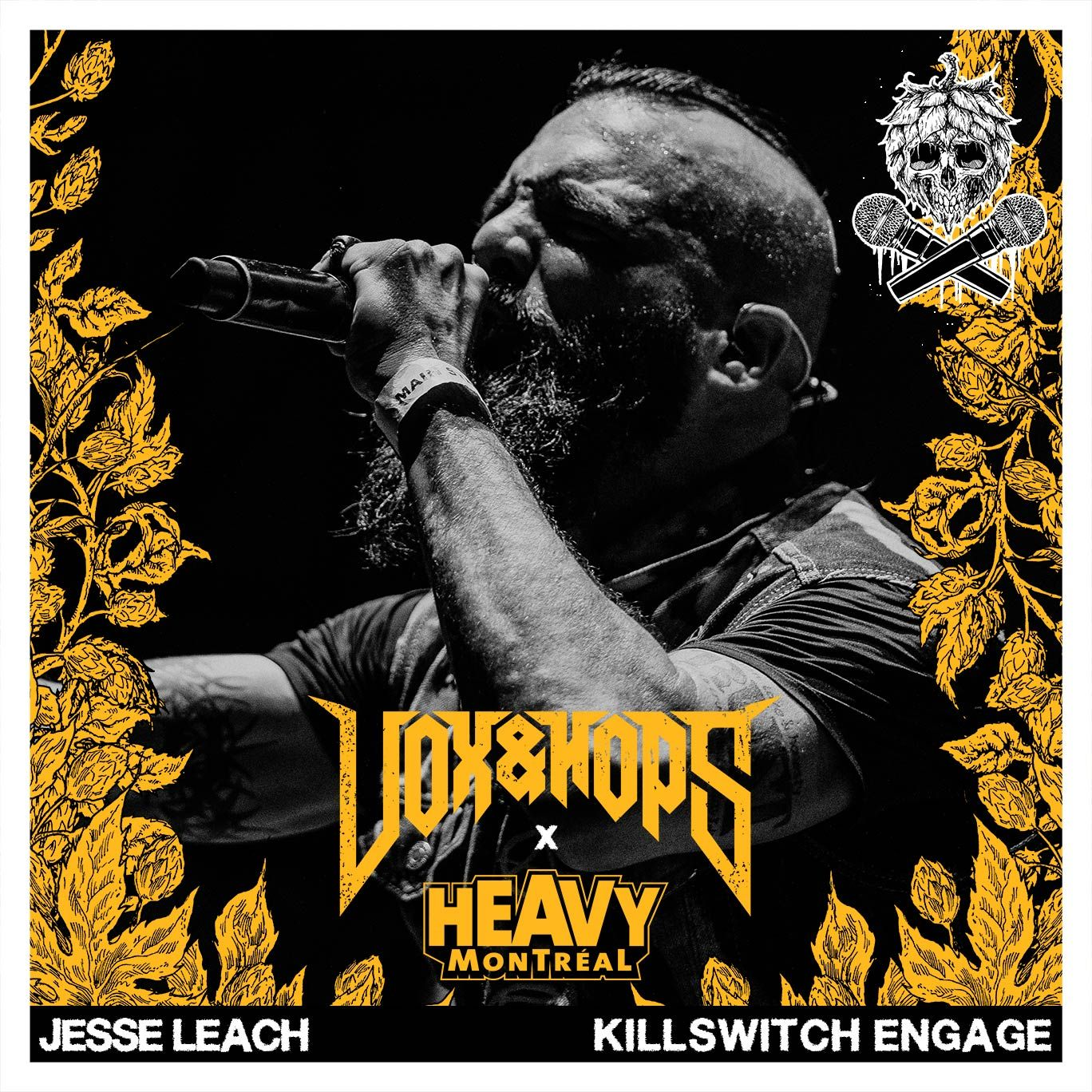 Jesse Leach (Killswitch Engage, Times Of Grace & The Weapon)