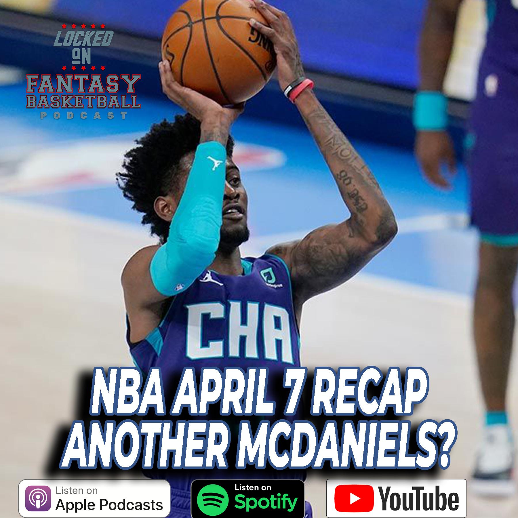 Jalen McDaniels Shows His Brother He Can Do It Too   April 7 NBA Recap