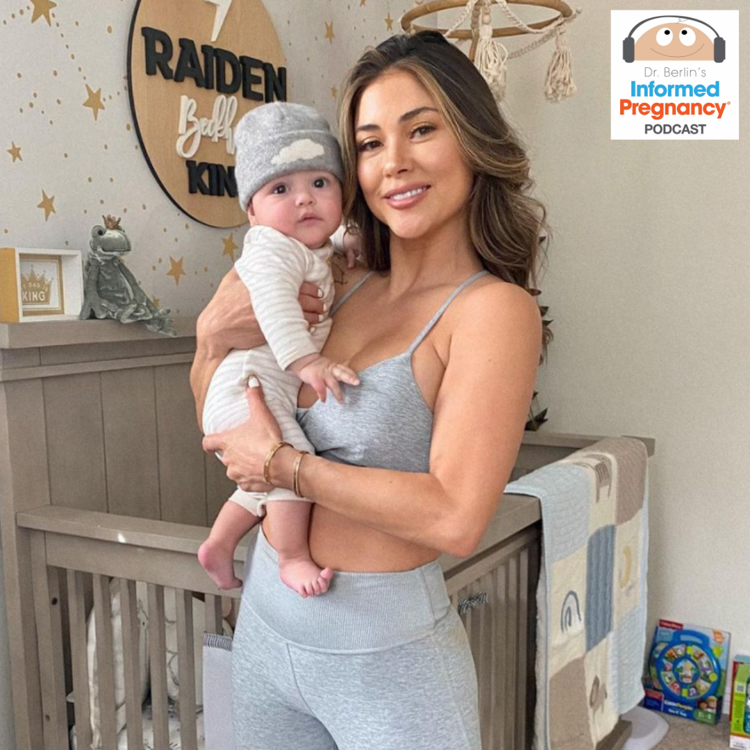 Arianny Celeste AFTER birth story