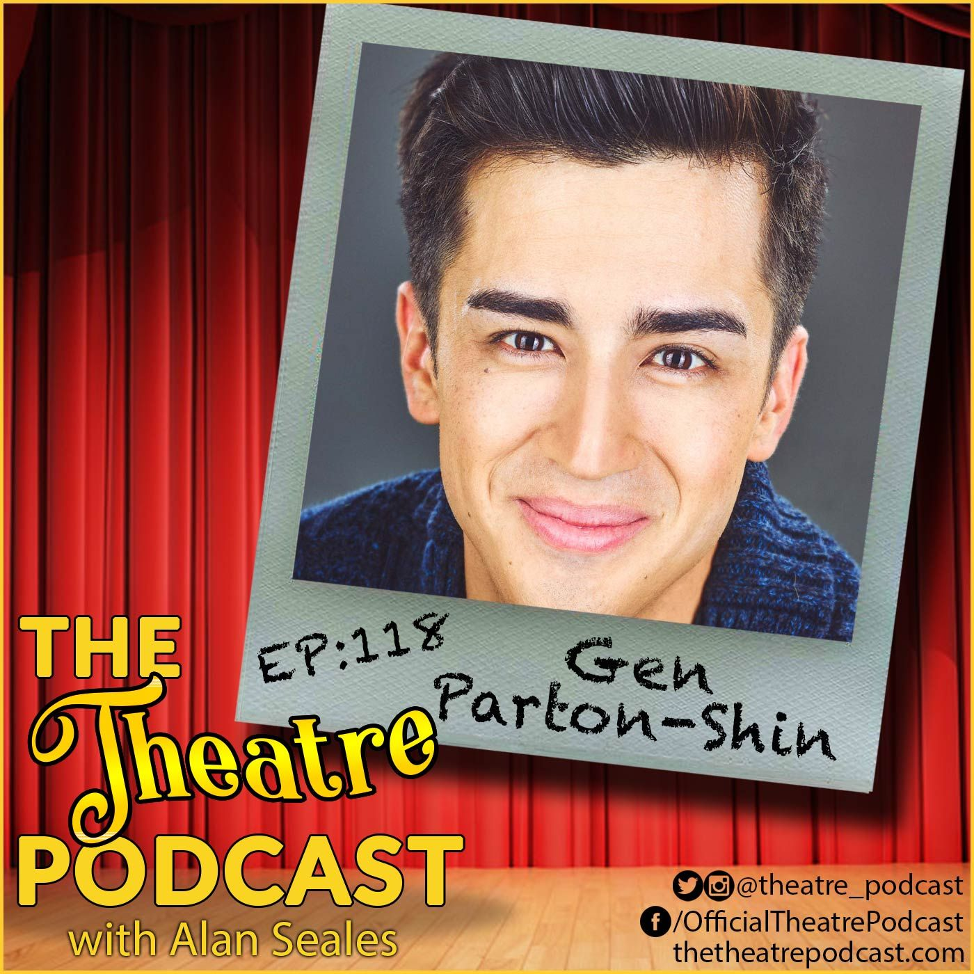 Ep118 - Gen Parton-Shin: Bridging the Gap Between Japan and Broadway