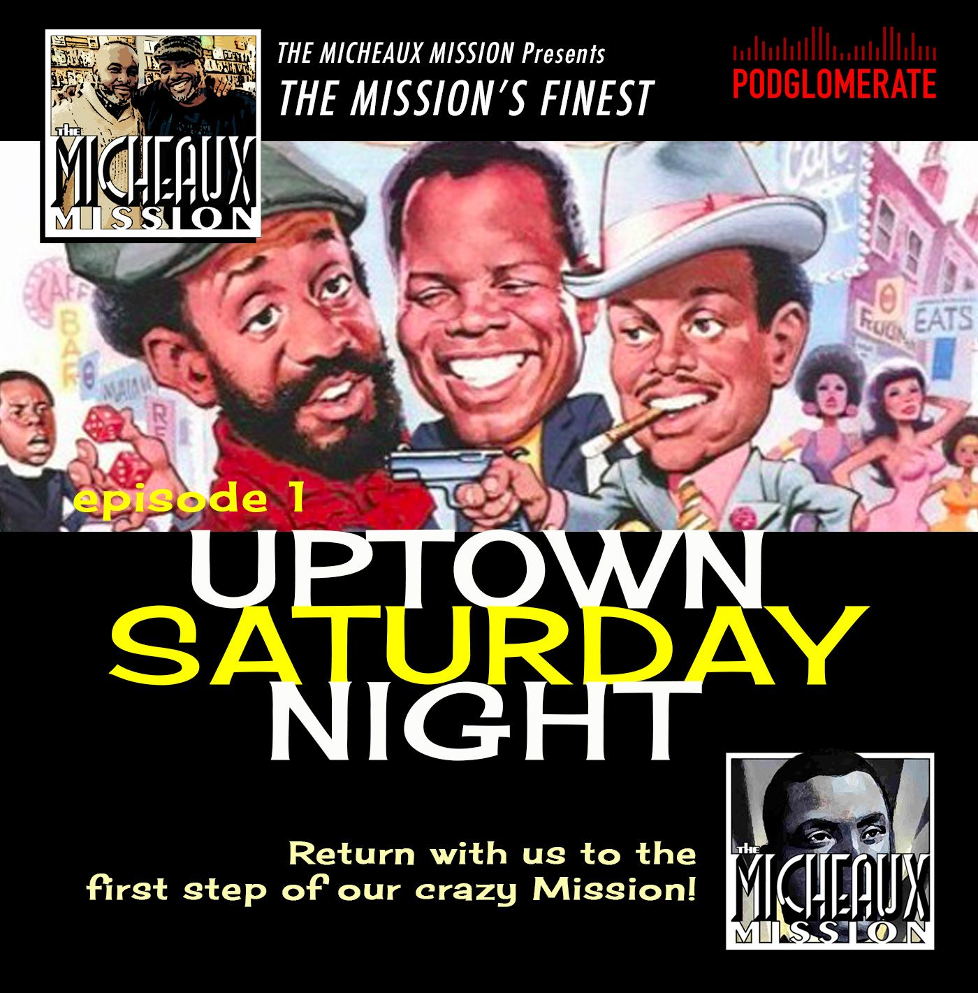 MISSION FINEST - Uptown Saturday Night (1974)