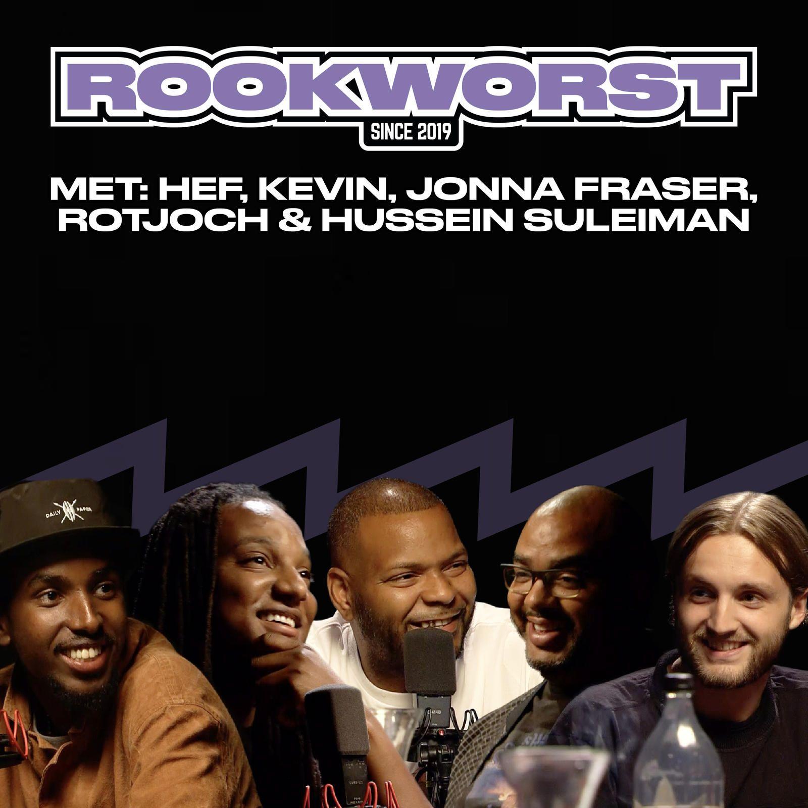 3: Ep. 3 met HEF, KEVIN, JONNA FRASER, ROTJOCH & HUSSEIN (DAILY PAPER)