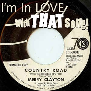 """Merry Clayton - """"Country Road"""""""
